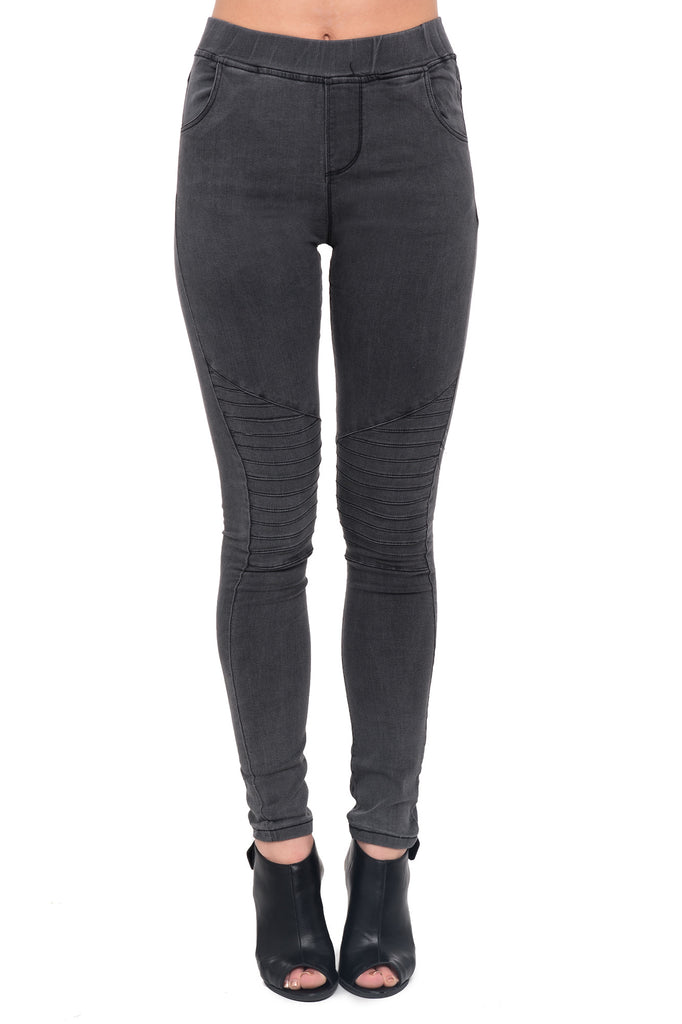 HIGH RISE MOTO JEGGING
