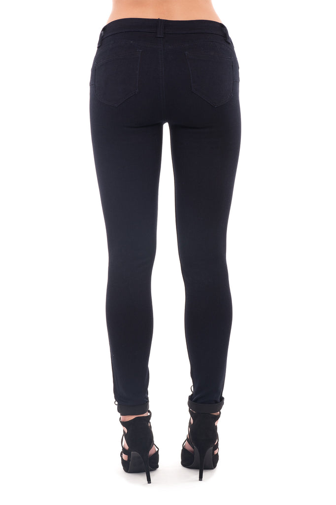 LOW RISE BUTT LIFT SKINNY JEAN - STYLE STEALS