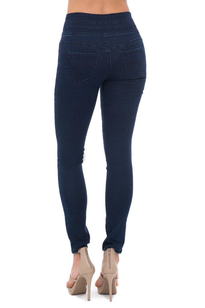 YMI WANNA BETTA BUTT HIGH RISE WAIST SHAPER SKINNY JEAN