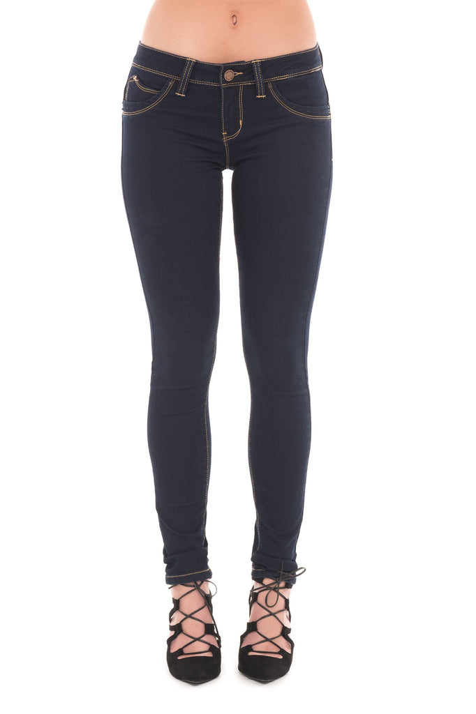 YMI WANNA BETTA BUTT LOW RISE SKINNY JEAN