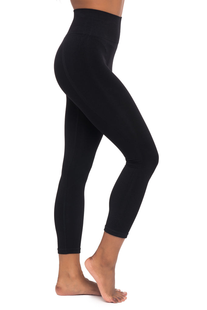 HIGH RISE SEAMLESS CROPPED LEGGING