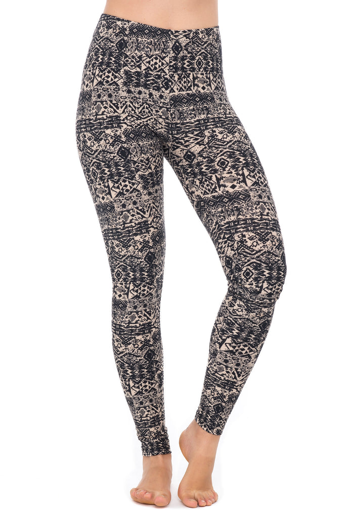 COMFORTABLE PRINTED LEGGING -  2 FOR $12 LEGGINGS PROMO