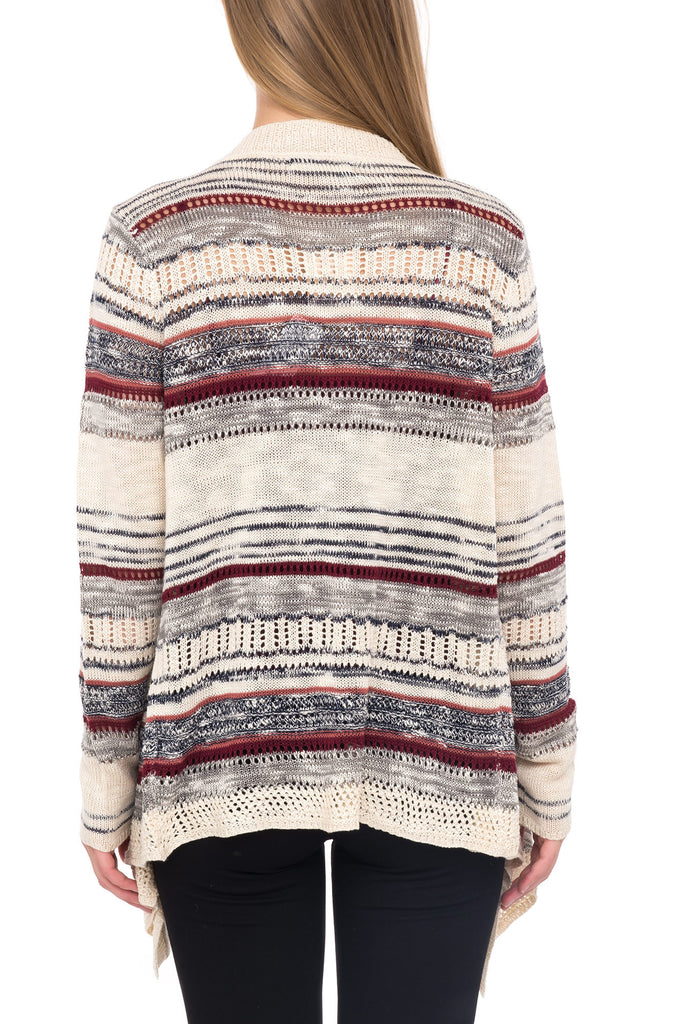LONG SLEEVE COLORFUL SWEATER