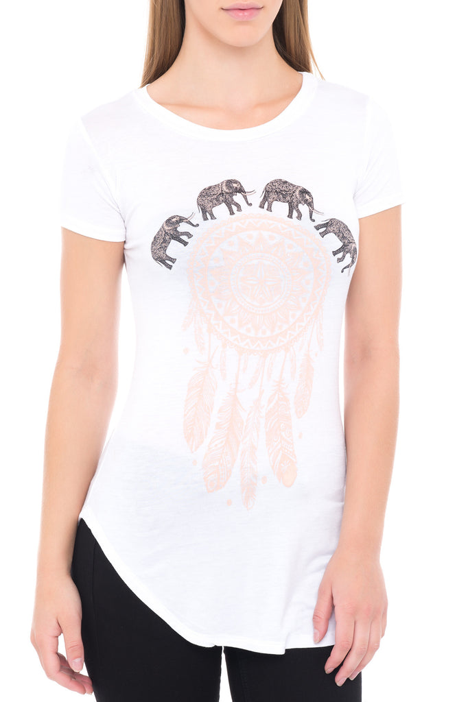 ELEPHANT GRAPHIC TEE - STYLE STEALS