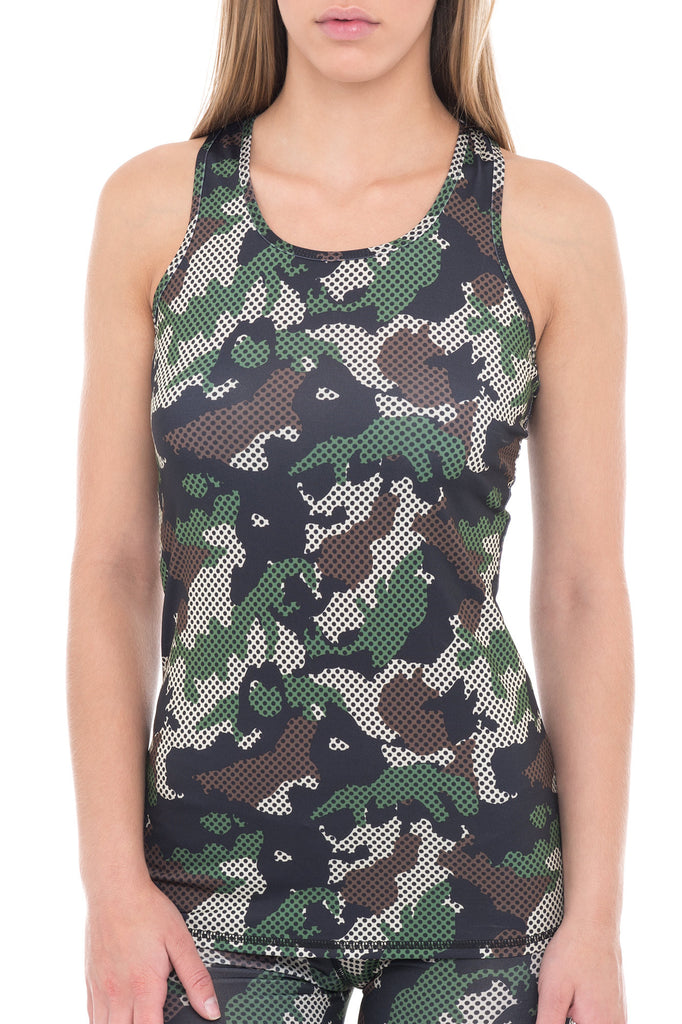 RACERBACK CAMOUFLAGE ATHLETIC TANK