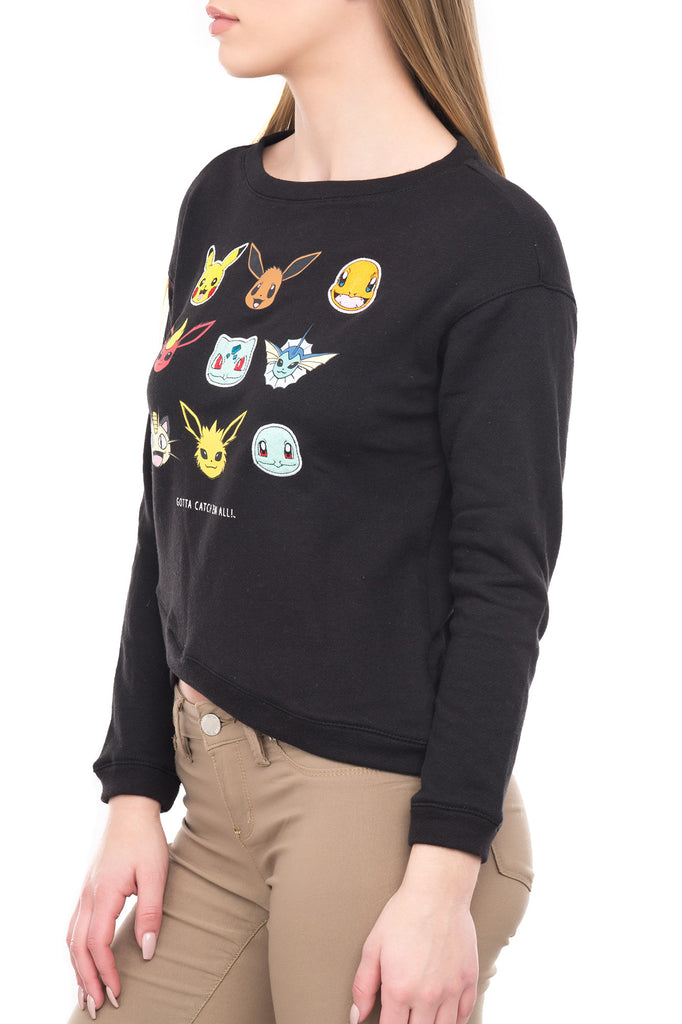 POKEMON GRAPHIC CREW NECK - BLUELINE