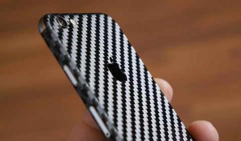 Mylo™ Black Carbon Fiber iPhone Skin - FREE!