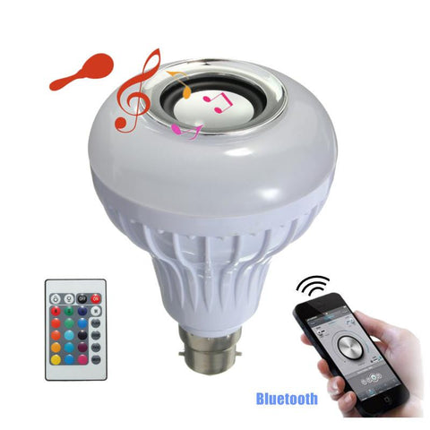 Adria - Bluetooth Lightbulb with Built-In Speaker