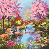 Cherry Blossom - Van-Go Paint-By-Number Kit
