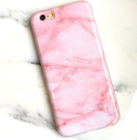 brand new aee90 d181f Pink Marble Phone Case - iPhone 6/6s/Plus