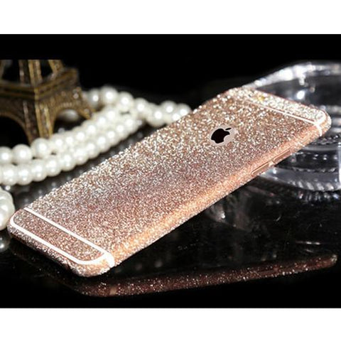 Faraday's Famous iPhone Glitter Skin w/ FREE Transparent case