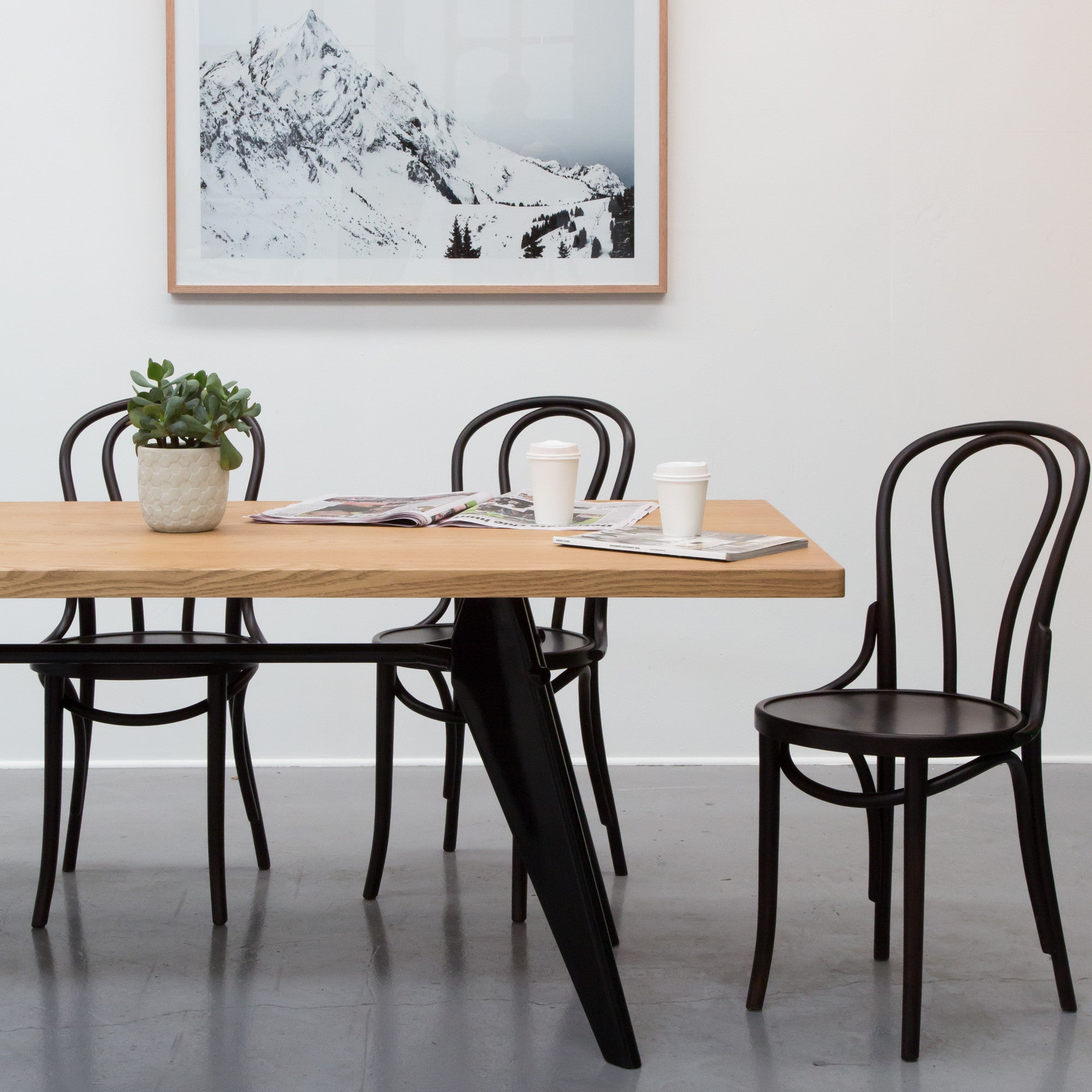 Thonet bentwood no 18 chair replica eat furniture for Designer furniture replica melbourne