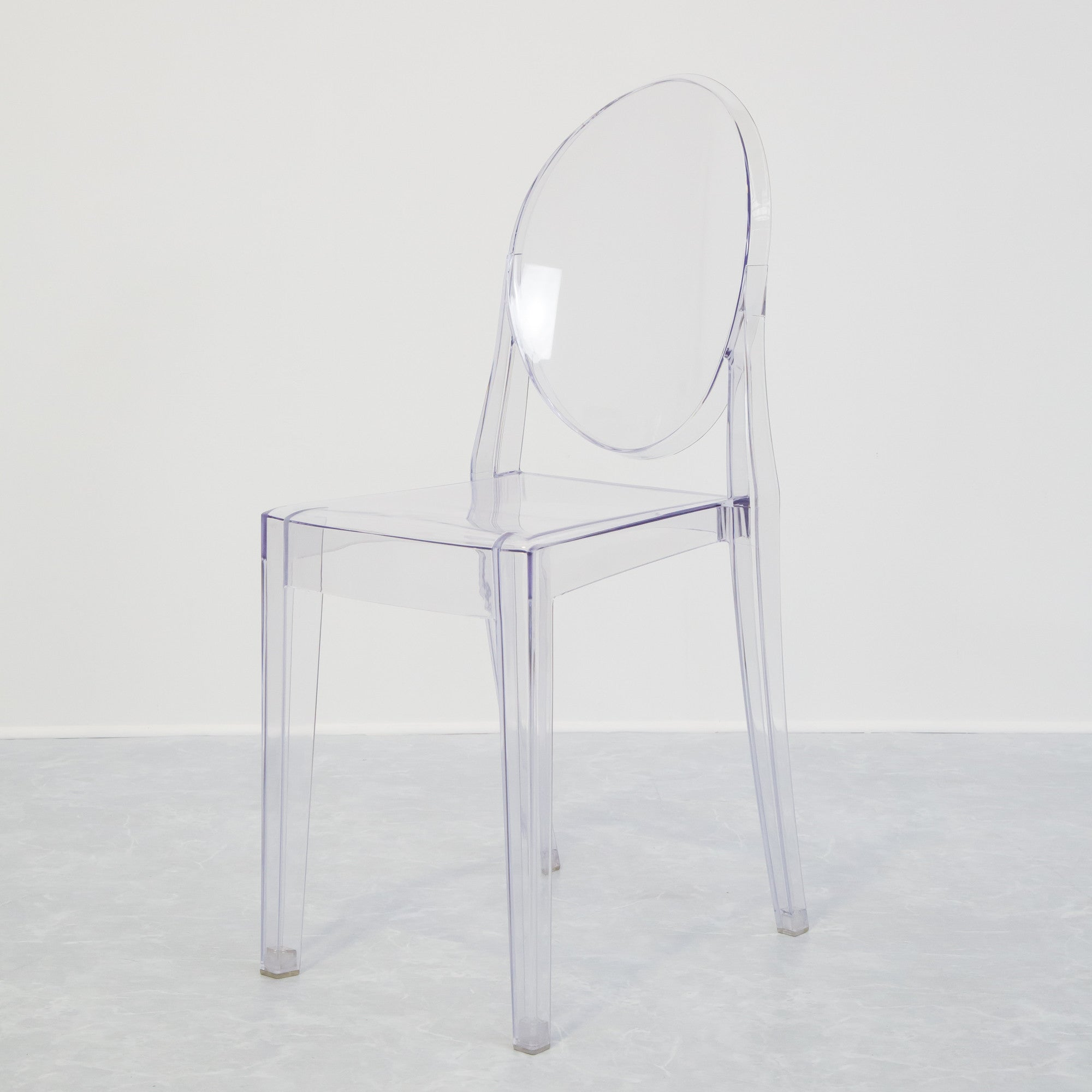 chairs realreal seating furniture ghost kartell home enlarged products the louis of pair starck chair