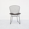 Bertoia Black Wire Chair Replica