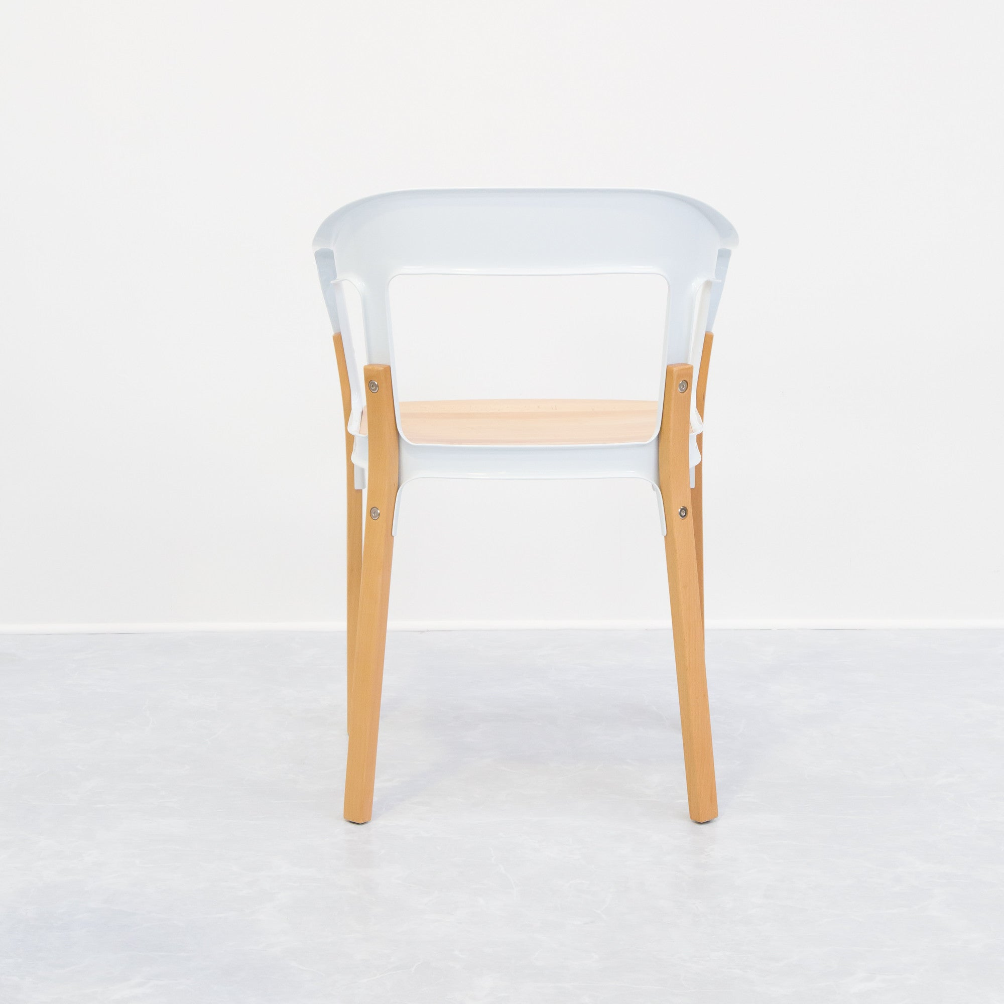 by aluminium chair polished one stacking magis prod