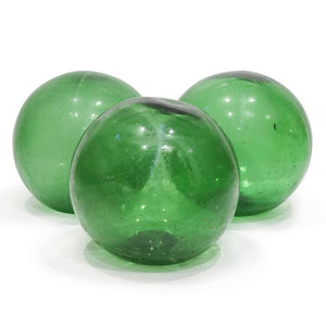 Glass Buoy Green