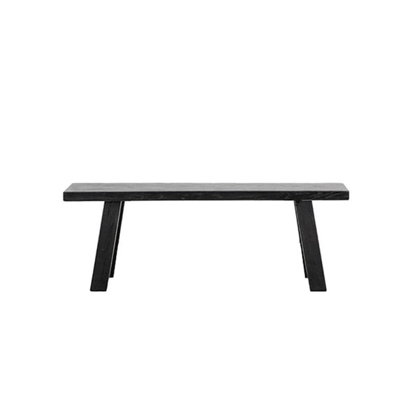 Elm Bench Seat | Natural or Black