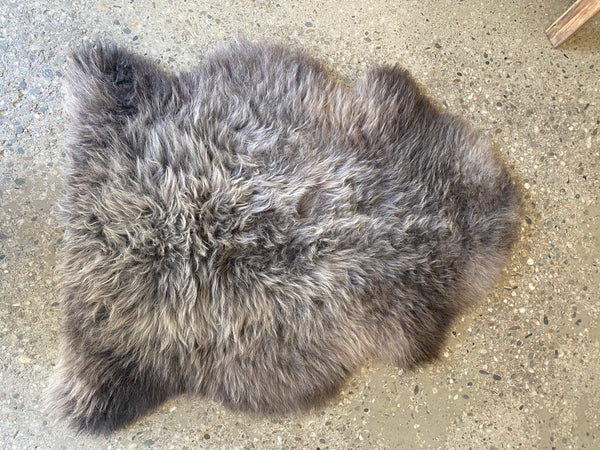 Natural Black-Brown Sheepskins