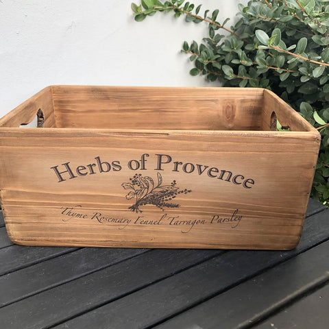 Herbs of Provence Vintage Style Boxes