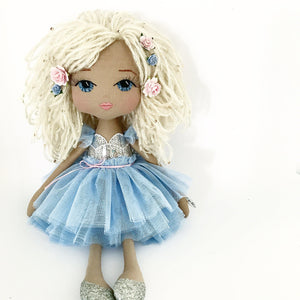 mel watts, the modern mumma, handmade doll