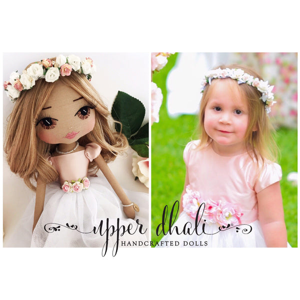 Uniquely Yours - Personalised Portrait Doll-Upper Dhali