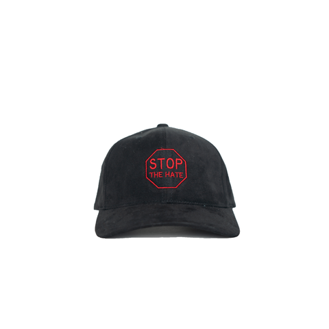 Stop The Hate Blk/Red Hat