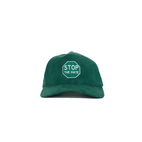 Stop The Hate Green Hat