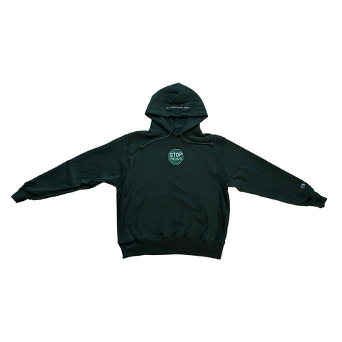 Stop The Hate Hoodie Green