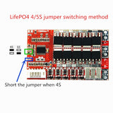 BMS 3.2V 50A 3S 4S for LiFePO4