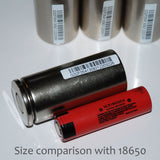 LiFePO4 Cylindrical 32700 Cells; 6000 mAh 3.2 V