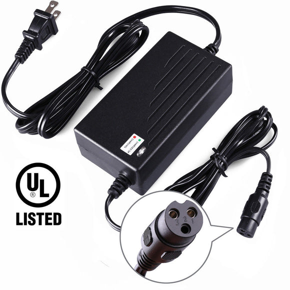 36V 2A Battery Charger (USA 110V Plug)