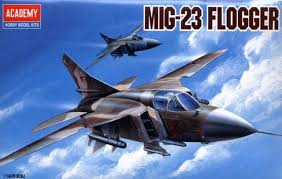 Academy MIG-23 Flogger 1/144th Model Kit