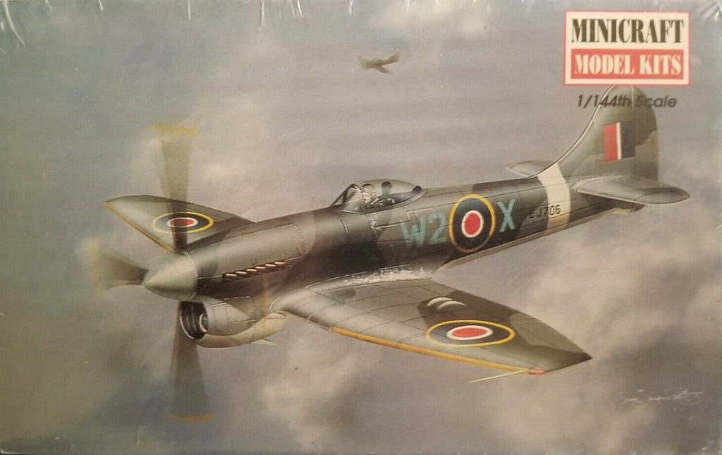 Minicraft Hawker Tempest V 1/144th Model Kit