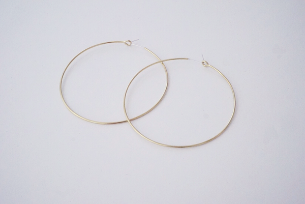 XXL Hoop Earrings