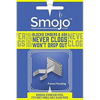 Smojo Permanent Pipe Screen (Surgical Steel)