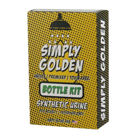 Simply Golden Synthetic Urine - Bottle Kit