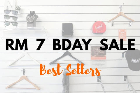 RM 7 BDAY SALE: Best Sellers!
