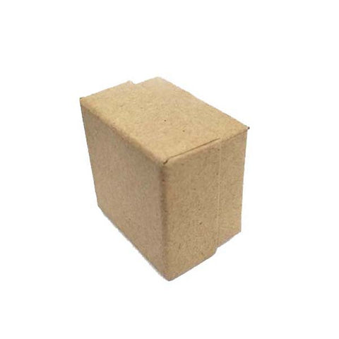 Kraft Ring Box 50X50X35mm (10 pcs/pack)