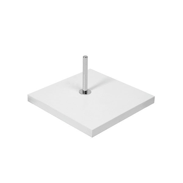 Base for Torso or Busts with Spigot & 900 mm pole  350 mm Square (B7602WH)
