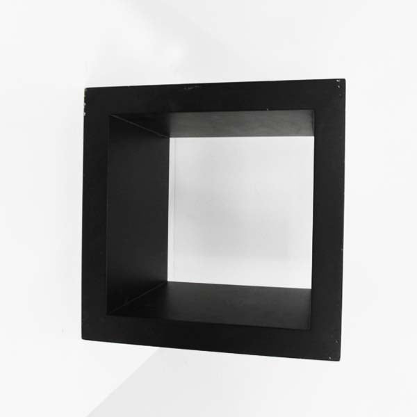 RENT Cube Frame Black