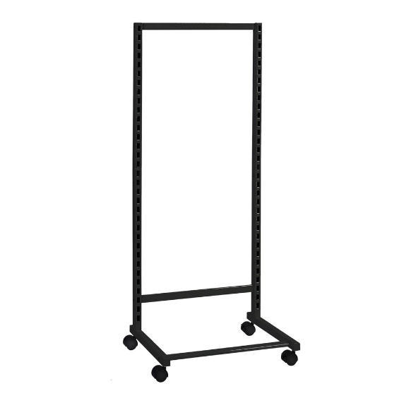 MAXe Single Sided Mobile Display Stand - on Castors (632mm W x 370mm D x 1450mm H, 600mm Bay)