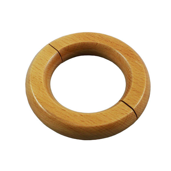 Wooden Ring Merchandise Holder