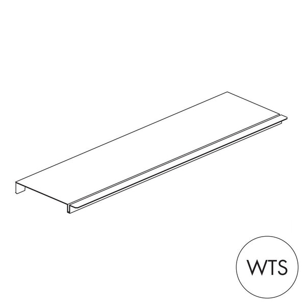 Peggie shelf - shallow Sits on 2 x 150mm pegs P3515