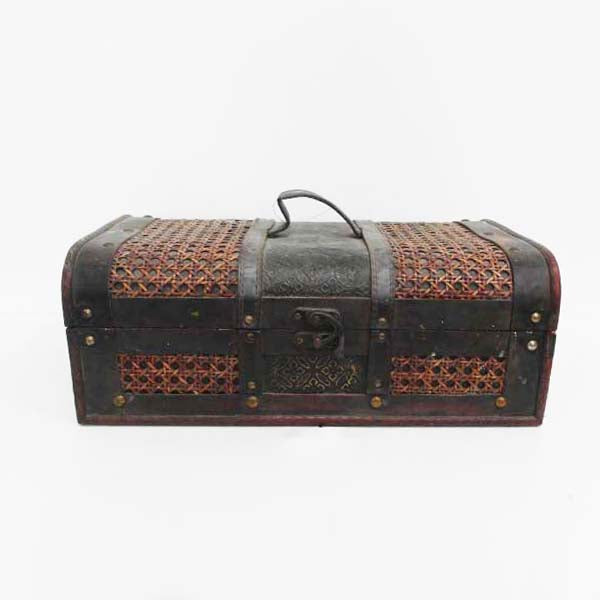 RENT Vintage Tool Box with Compartments