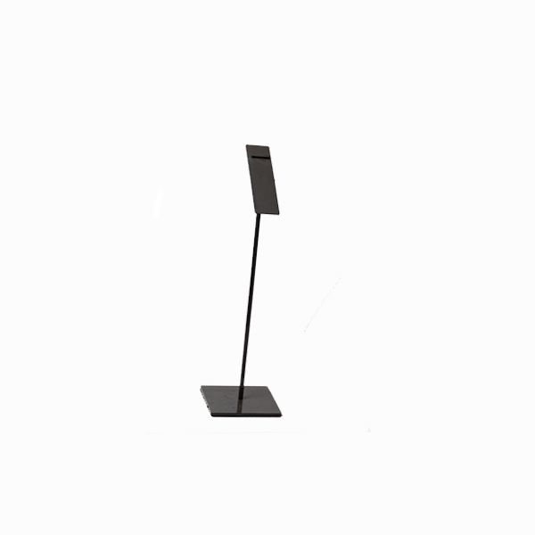 RENT Large Dark Grey Metal Shoe Stand RENTSS2