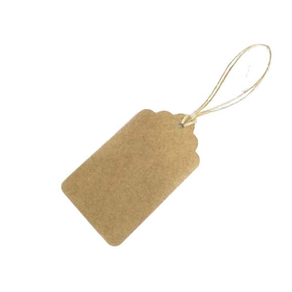 Boutique Swing Tag Brown 70X40mm (100pcs/ pack)