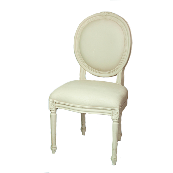 RENT White Victorian Chair RENTCHAIR1