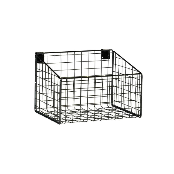 MAXe backrail basket  293 W x 200 H x 212 mm D E4380BK