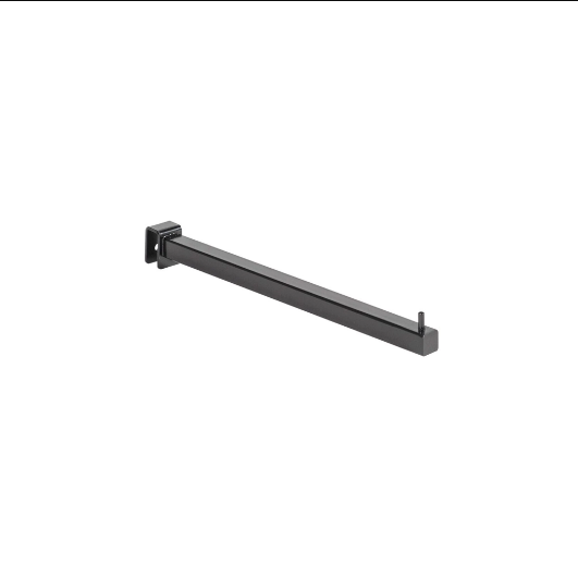 MAXe Backrail Straight Arm - 300mm D x 18mm x 18 mm section (E4830)