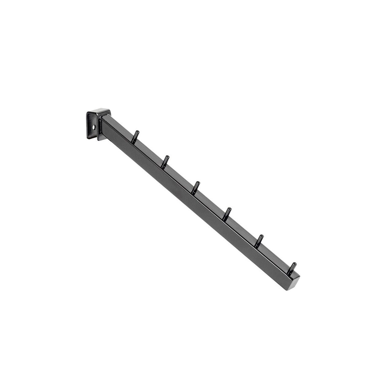 MAXe backrail waterfall arm with 6 pins 310 mm D  18 x 18 mm section E4842